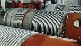 波纹管折流杆换热器