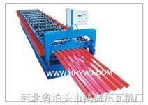 鸿海750型彩钢设备