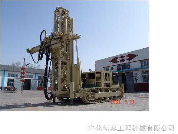 改进KQG110D高风压隧道180°潜孔钻机