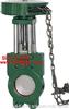 刀型閘閥.漿料閥:Z73X鏈輪式漿液閥